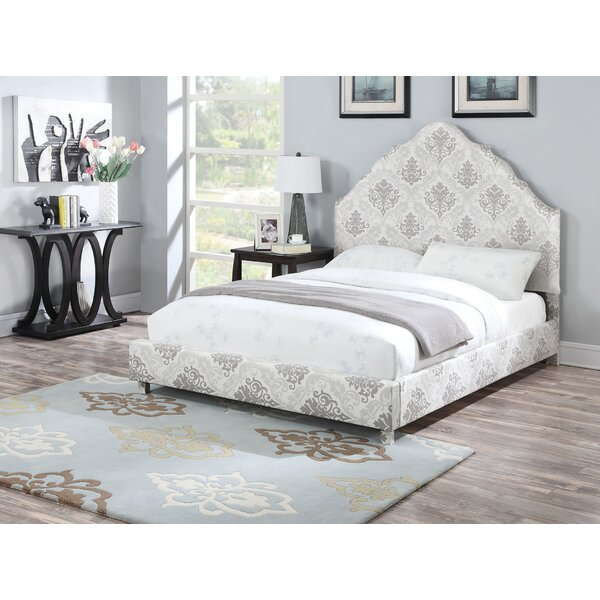 Dorffman Upholstered Standard Bed by Rosdorf Park