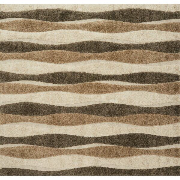 Dania Beige Area Rug by Wrought Studio