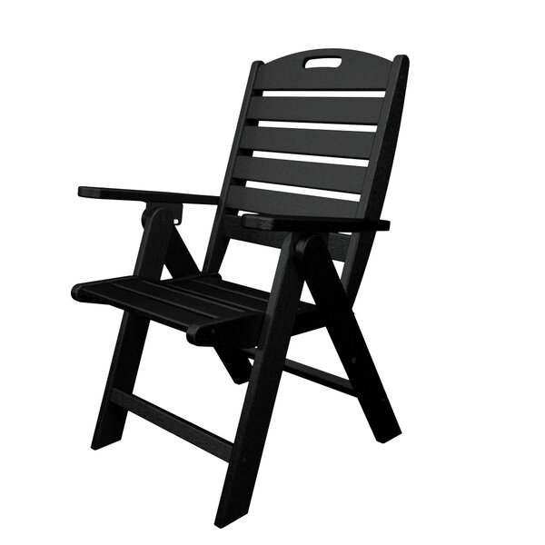Nautical Folding Patio Dining Chair by POLYWOOD®