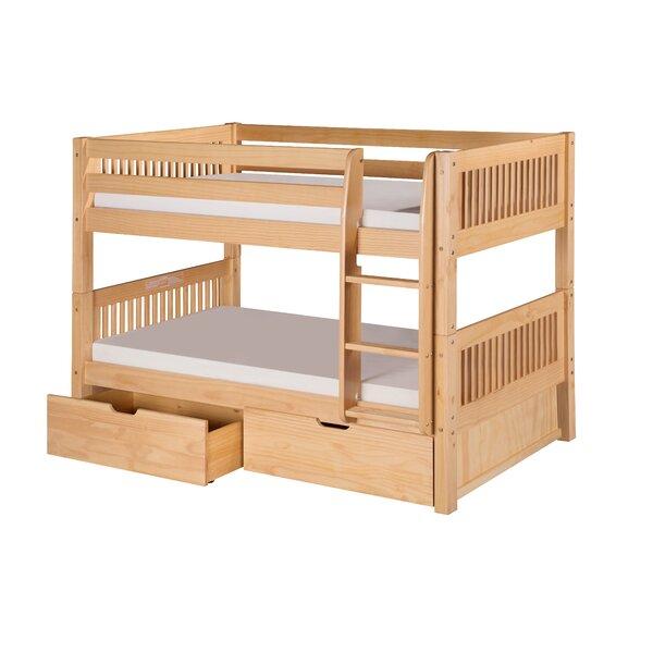 Oakwood Twin Wood Panel Bed by Harriet Bee