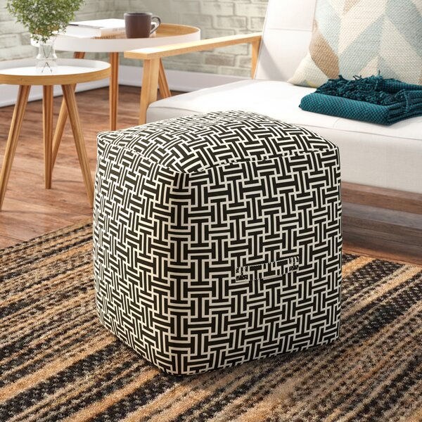 Lysistrate Cube Pouf Ottoman by Mercury Row