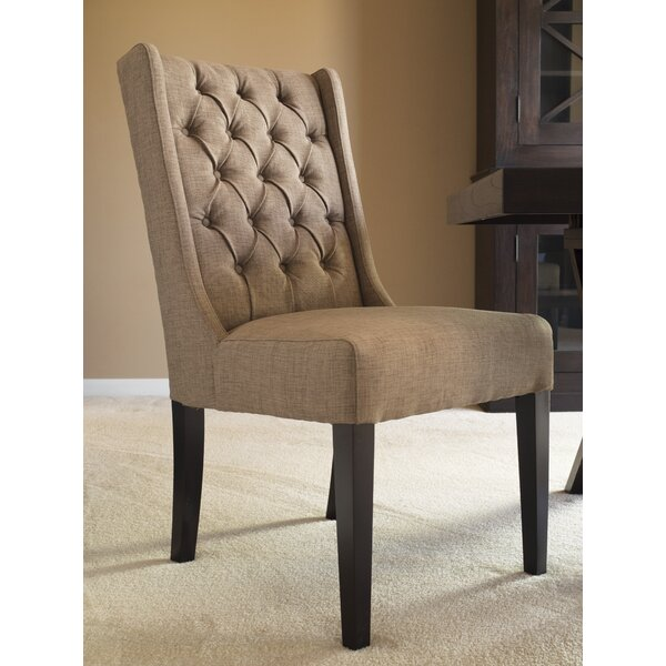 Captiva Upholstered Dining Chair (Set of 2) by Padmas Plantation