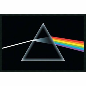 'Pink Floyd - Dark Side of the Moon, Prism' Framed Graphic Art by Buy Art For Less