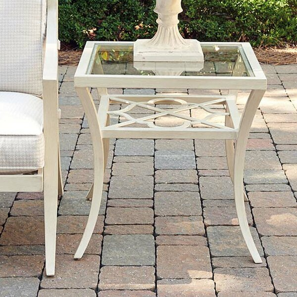 Misty Garden Glass Side Table by Tommy Bahama Outdoor