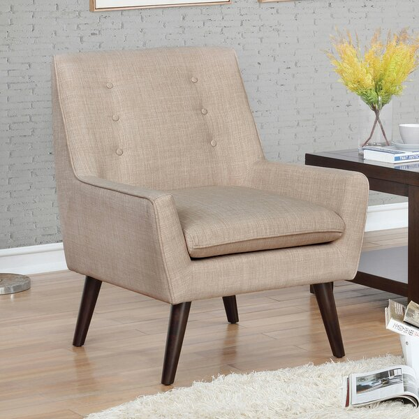 Thomaston Barrel Chair by Foundry Select