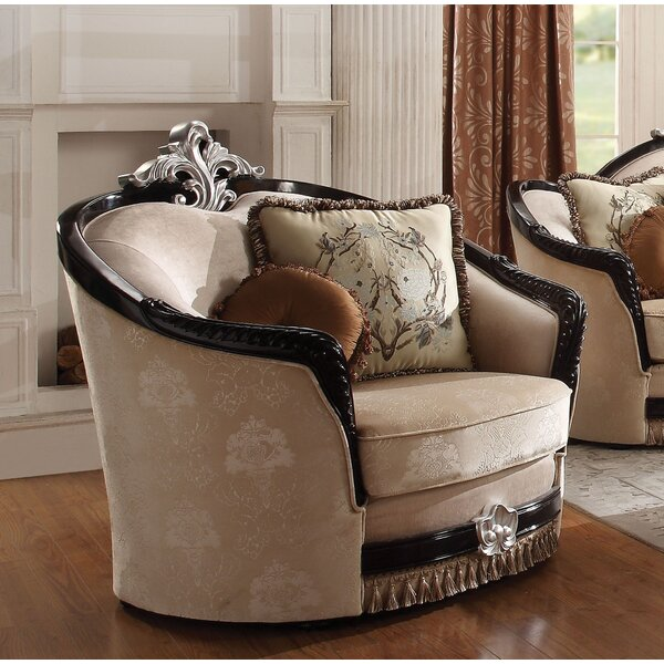 Chavira Fabric Chair and a Half by Astoria Grand