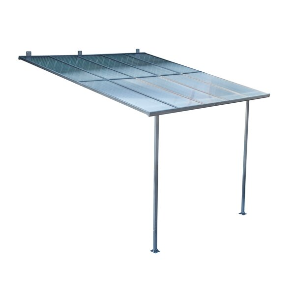 Outsunny 10 ft. W x 10 ft. D Patio Awning by Outsunny