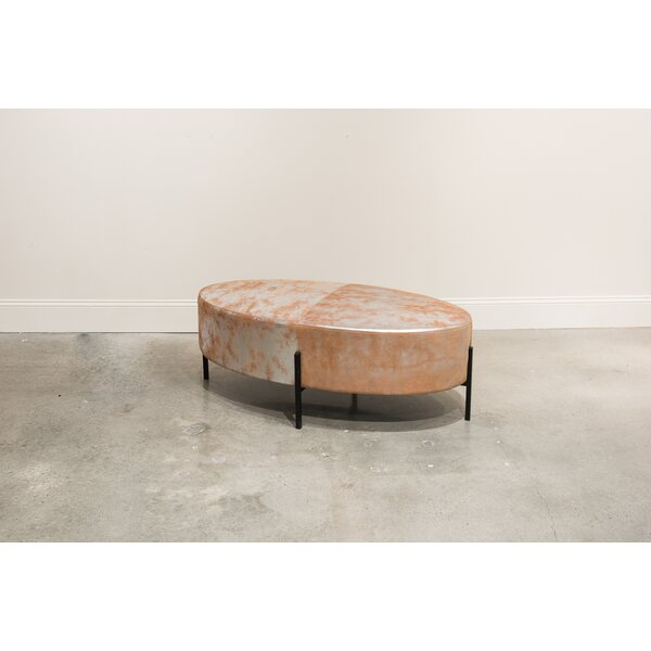 Spears Leather Bench by Mercer41