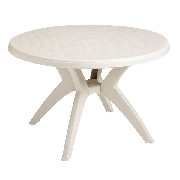 Ibiza Plastic Dining Table by Grosfillex Commercial Resin Furniture