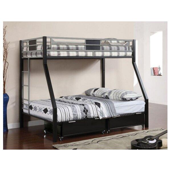 Mitcheldean Twin Over Twin Bunk Bed by Harriet Bee