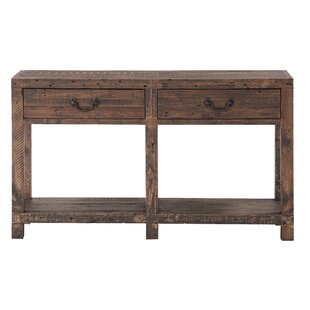 Stamant Reclaimed Wood Console Table ByMillwood Pines