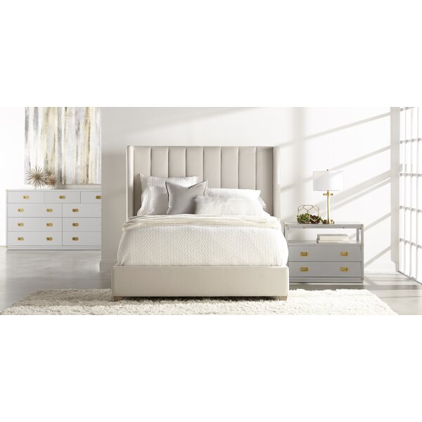 Statham Upholstered Platform Bed by Everly Quinn