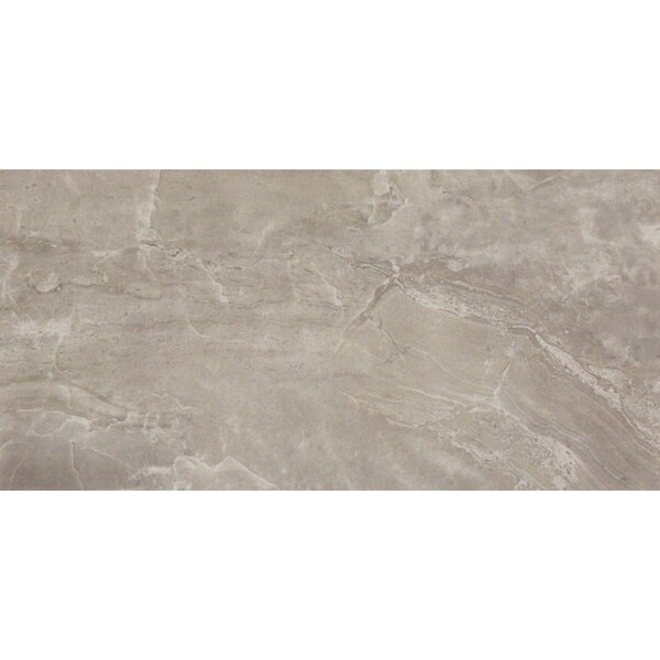 Pietra Pearl 12 x 24 Porcelain Field Tile in Gray by MSI