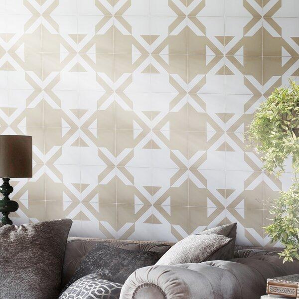 Tantan Handmade 8 x 8 Cement Field Tile