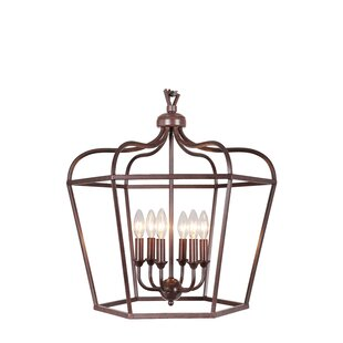 Cage 6 Light Pendant