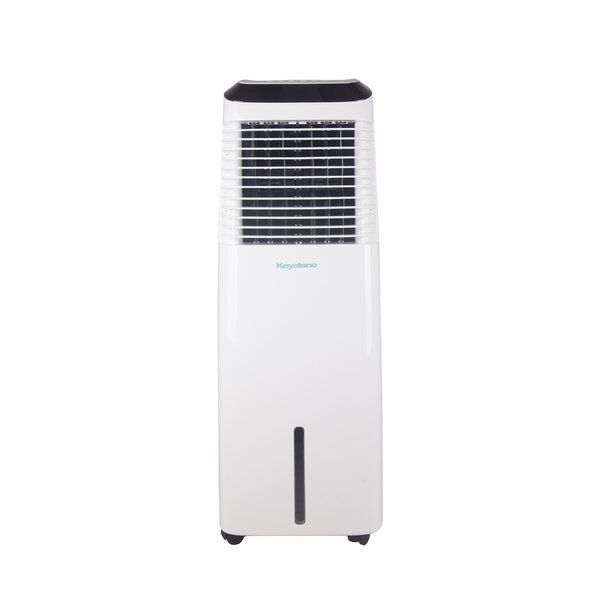 30-Liter Indoor Evaporative Cooler with Remote and WiFi Control by Keystone