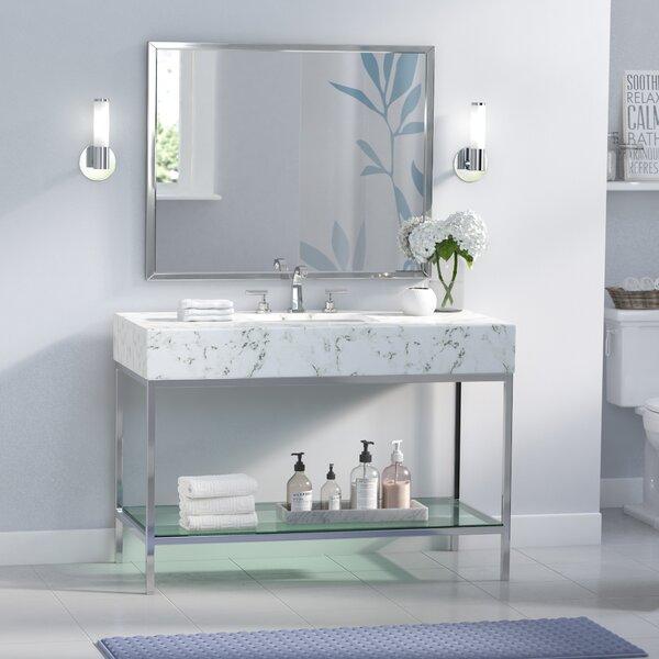 Malvina 48 Single Bathroom Vanity Set with Mirror by Orren Ellis