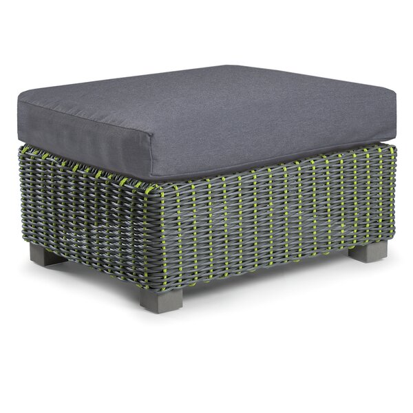 Traverse Outdoor Ottoman with Sunbrella Cushions by Eddie Bauer