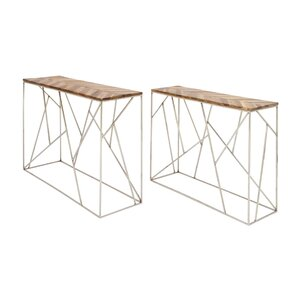 2 Piece Console Table Set by Cole & Grey
