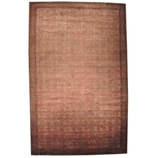 One-of-a-Kind Eisenbarth Circa 1880 Agra Oriental Hand-Knotted Pink Area Rug