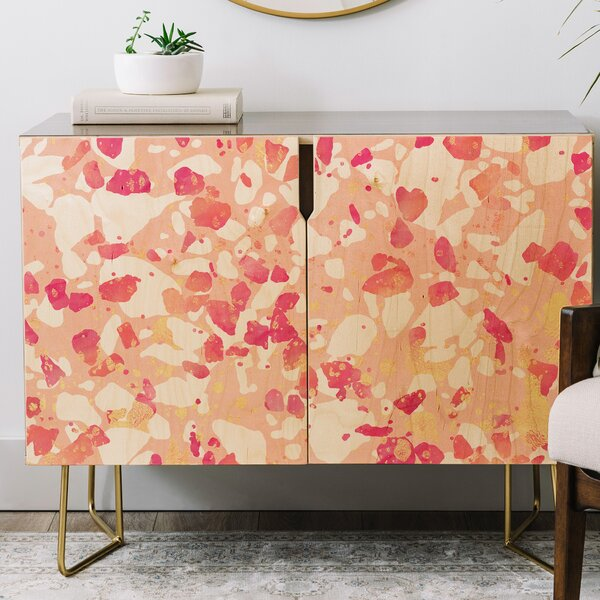 Elisabeth Fredriksson Terrazzo Delight Credenza by East Urban Home East Urban Home