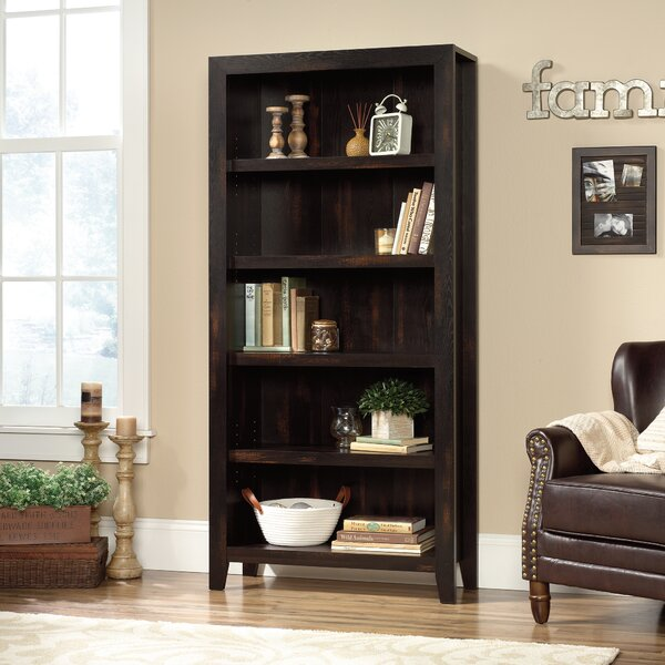 Ericka 5 Shelf Standard Bookcase by Mistana