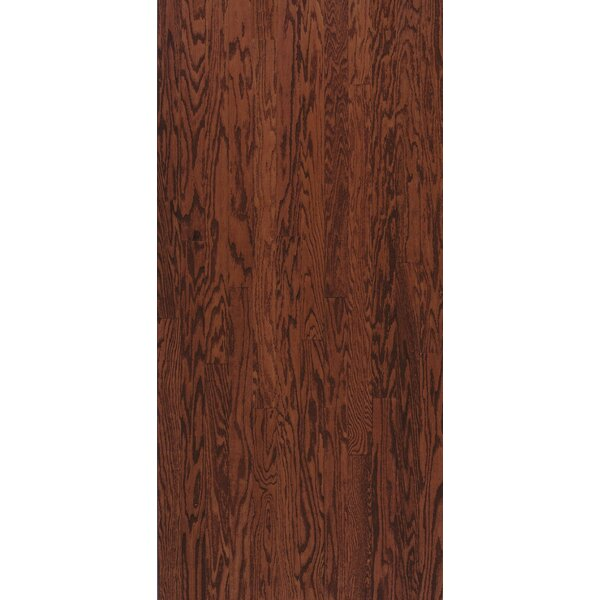 Turlington 5 Engineered Oak Hardwood Flooring in Low Glossy Cherry by Bruce Flooring