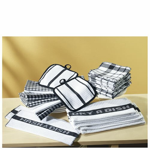 17 Piece Cotton Towel Set by Zipcode Design