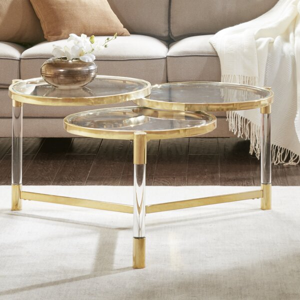 Chingford Coffee Table by Everly Quinn Everly Quinn