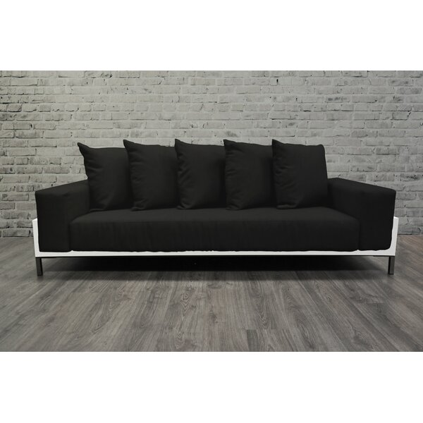 Tilly Deep Seated Patio Sofa with Cushions by Orren Ellis