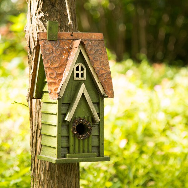 12in x 7in x 5in Birdhouse by Glitzhome