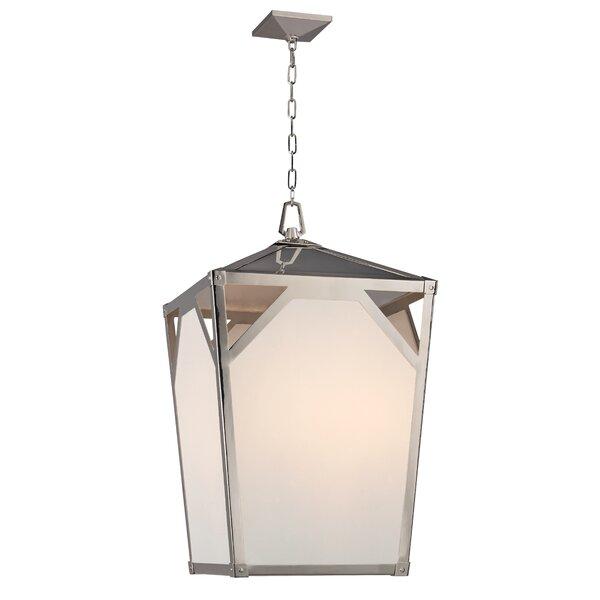 Carlisle 8 - Light Lantern Geometric Chandelier By Hudson Valley Lighting