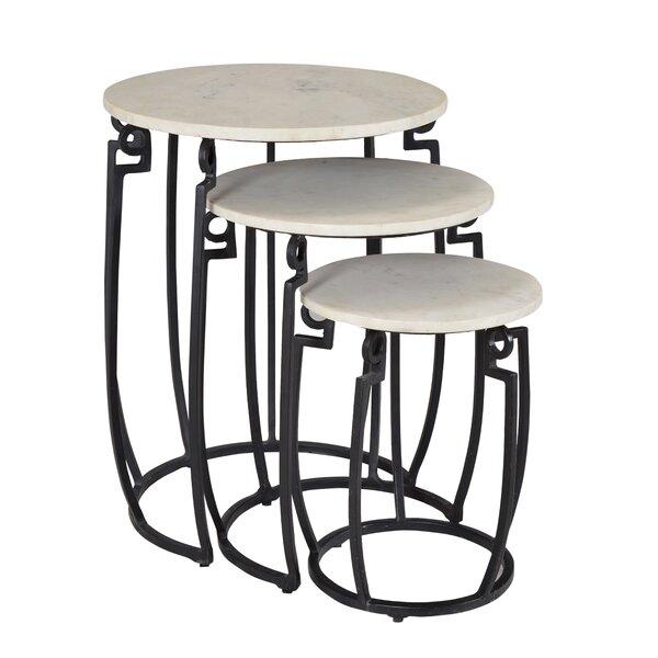 Shilin 3 Piece Nesting Tables by Latitude Run