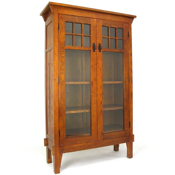 Shumway Entertainment Standard Bookcase By World Menagerie