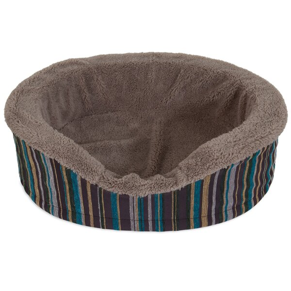 Antimicrobial Oval Foam Lounger Dog Bed by Aspen Pet