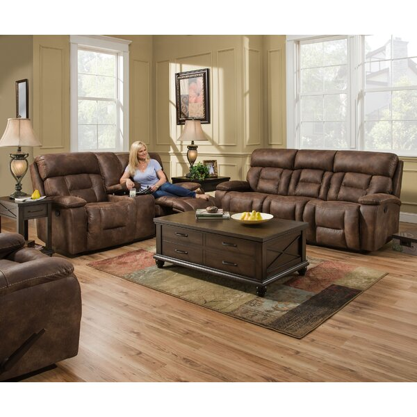 Pledger Reclining Configurable Living Room Set by Loon Peak