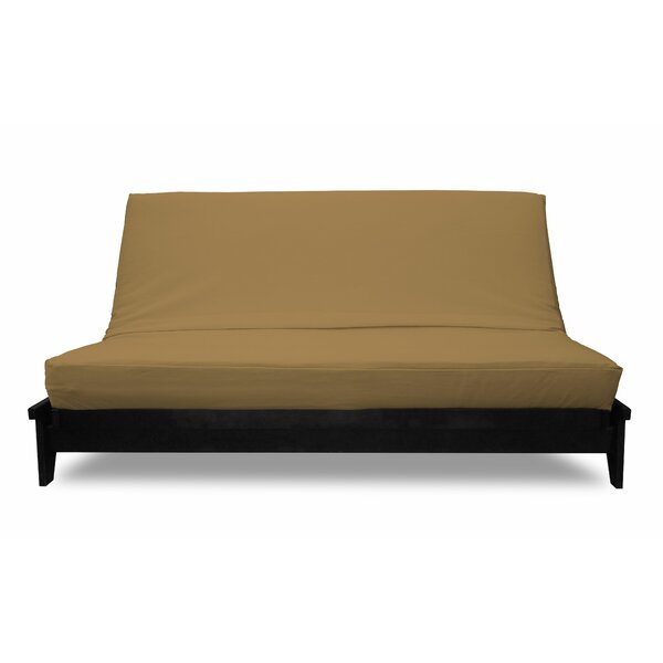 Box Cushion Twill Futon Slipcover By Winston Porter