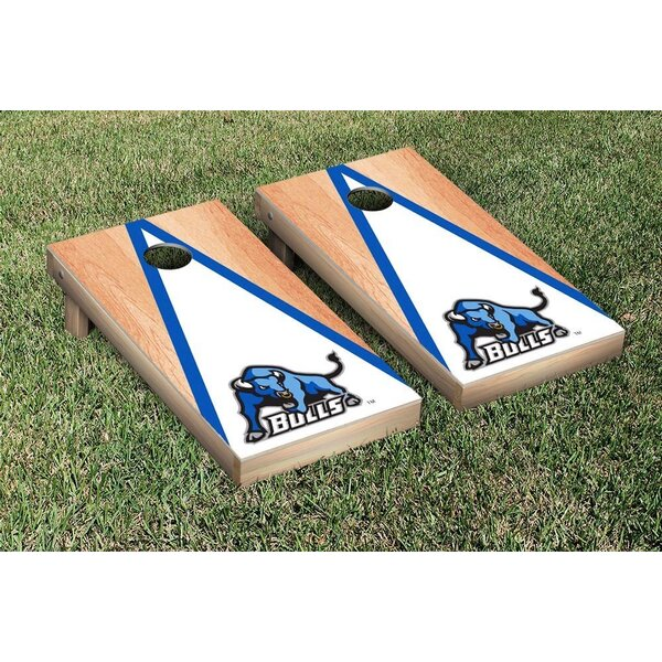 NCAA Triangle Version Cornhole by Victory Tailgate