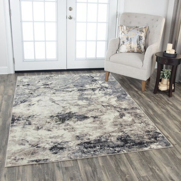 Everything Old Is New Again Gray/beige Area Rug By Donny Osmond Home.