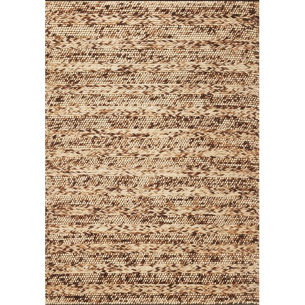 Sherwood Coffee Heather Rug by Corrigan Studio