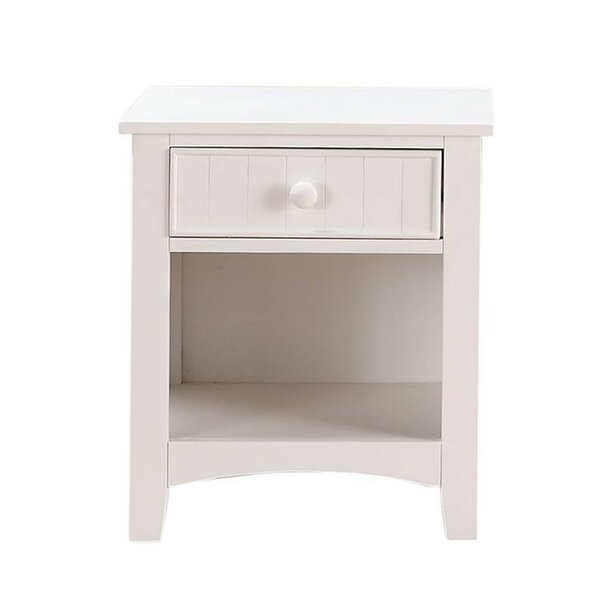 Chaparosa 1 Drawer Nightstand by Red Barrel Studio