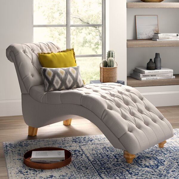 Don Fabric Chaise Lounge