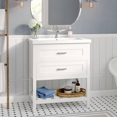 Caudillo 30 Single Bathroom Vanity Set