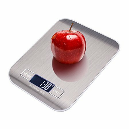Stainless Steel Digital Kitchen Scale by Beauty Acrylic