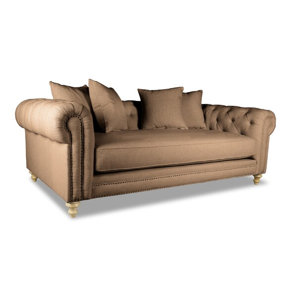 Find Popular Esters Plush Deep Chesterfield Sofa by Darby Home Co by Darby Home Co