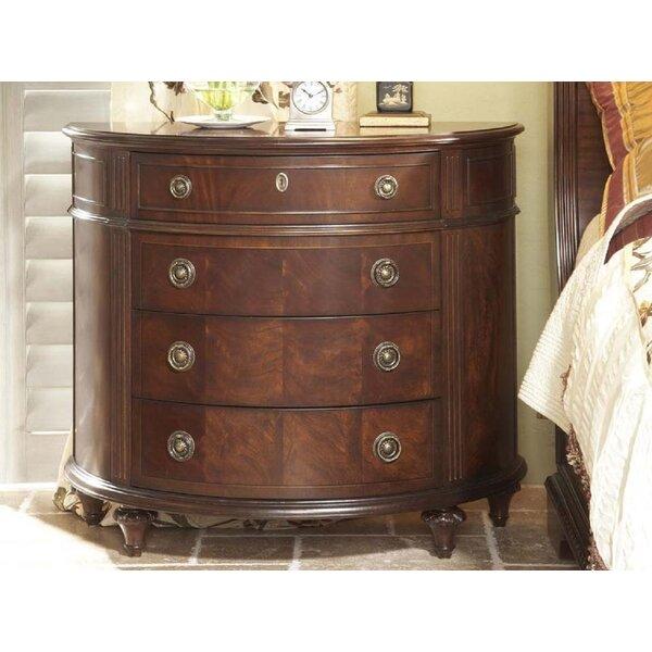 Antebellum Demilune 4 Drawer Chest by Fine Furniture Design