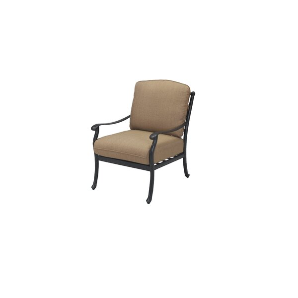 Cardin Patio Chair with Cushions by Darby Home Co