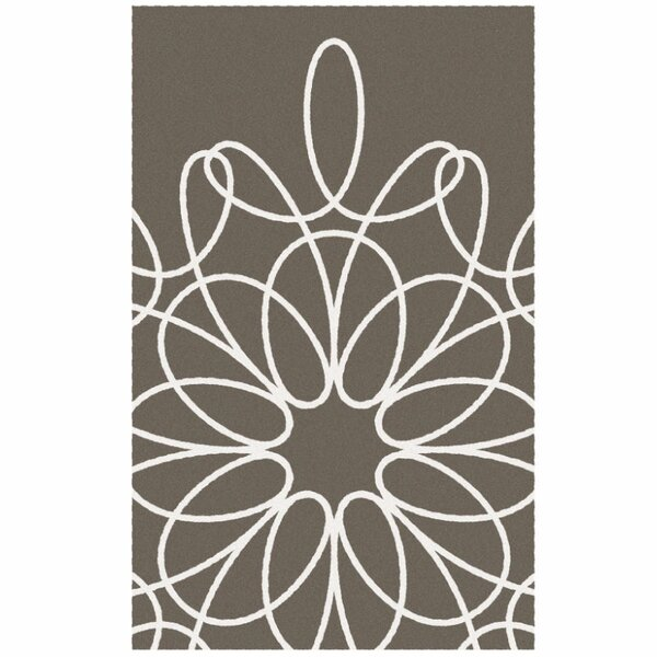 Ribbon Sable/White Area Rug by notNeutral