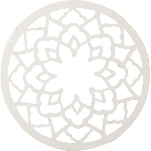 Dill Round Wall Panel with Mirror by Bungalow Rose