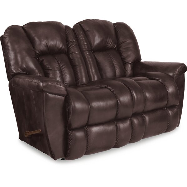 Maverick Reclining 64 Inches Pillow Top Arms Loveseat By La-Z-Boy